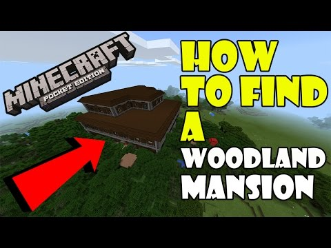 How To Find A WOODLAND MANSION !!! Woodland Mansion Seed | Minecraft PE 1.1 Update Review