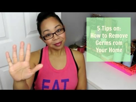 5 Tips on: How to Remove Germs From Your Home (Nicole)