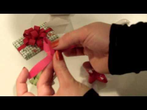 Making Paper Bows Version #2