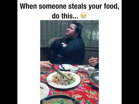 When Someone Steals Your Food, Do This😂