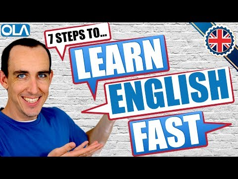🔥 How To Learn English Fast 🔥 7 Easy Steps To Improve Your English Speaking