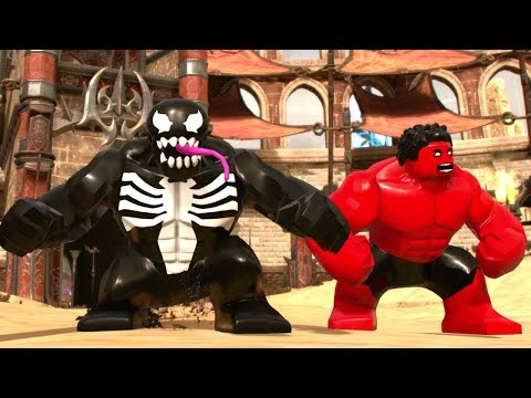 LEGO Marvel Super Heroes 2 - Red Hulk Boss Fight + Unlock & Free Roam