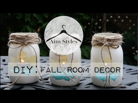 Easy DIY Fall Room Decor | Light up your room!