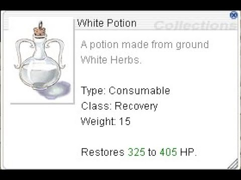 How to Make White Potions for 550z [REVO-CLASSIC]