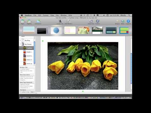 Make a website on a Mac in a few minutes