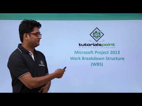 MS Project 2013 - Work Breakdown Structure (WBS)