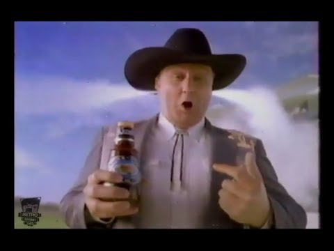 Kraft Thick 'N Spicy Barbecue Sauce Funny TV Commercial With A Texas Gentleman! From 1990