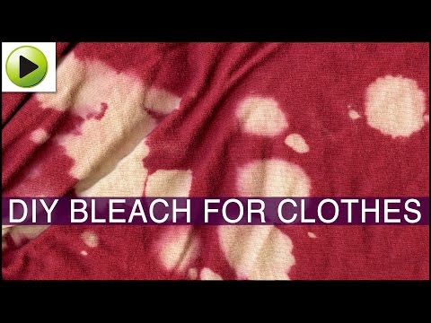 Natural Bleach for Clothes