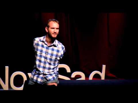 Overcoming hopelessness -(MOTIVATIONAL)  Nick Vujicic at TEDxNoviSad