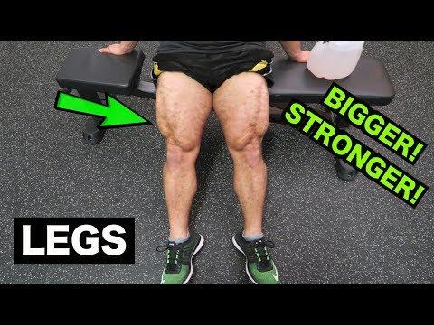 BIGGER STRONGER LEGS WORKOUT | DUMBBELLS ONLY!