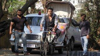 Actor-comedian Krushna Abhishek Shooting Spot Jhunjhunaa Movie