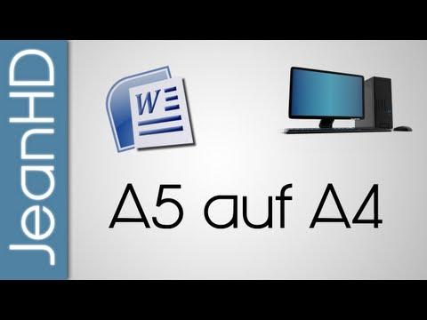 Zwei A5 Seiten auf eine A4 Seite drucken - Microsoft Word - PC Tipps Und Tricks