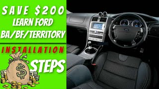 How to Upgrade the Ford FG Stereo with Android ICC MK1 & MK2