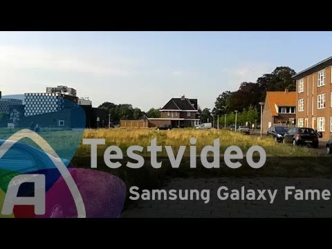 Samsung Galaxy Fame testvideo (Dutch)