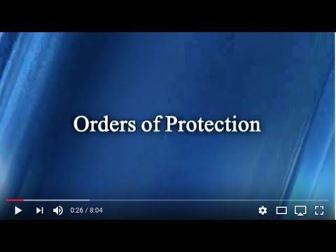 ORDERS OF PROTECTION