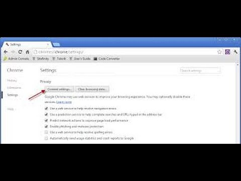 How to Disable or Enable Pop-up Blocker in Google Chrome