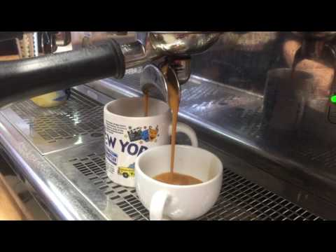 How to make Americano in cafe