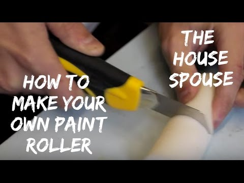 How to make a custom paint roller - The HouseSpouse