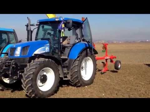 20 tractors in presentation, from