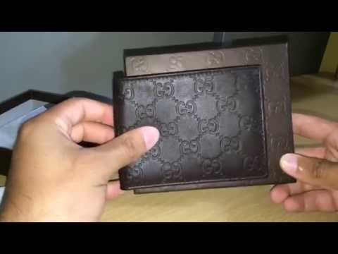 Mens Gucci Wallet Unboxing Authentic