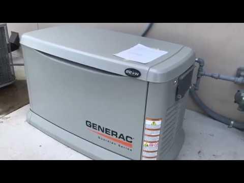 Load Test For Generac 22kW Generator