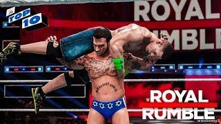 WWE Royal Rumble 2018 - Top 10 SHOCKING Returns! (WWE 2K18)