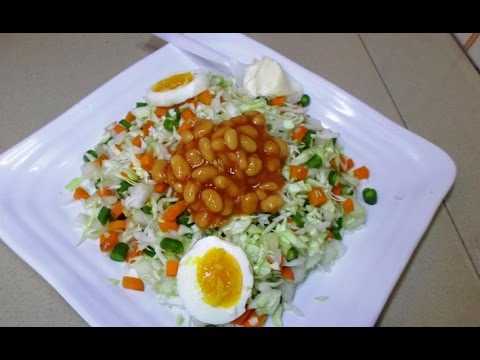 How to make Nigeria Vegetable Salads - Foods Eaten In Nigeria
