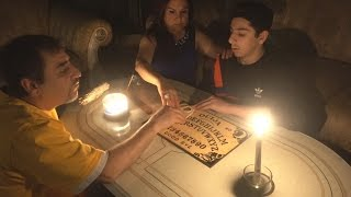 SCARIEST OUIJA BOARD EVER!! (CONTACTED AN EVIL SPIRIT)