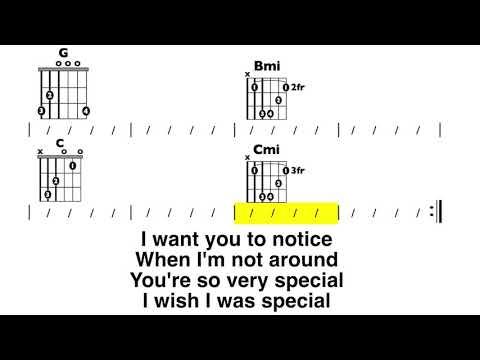 Creep (no audio) Chord and lyric play-along