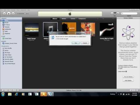 itunes mp3's to audiobooks for itunes 8.x