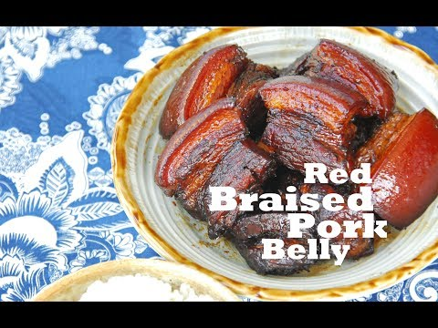How to Make Home-style Red Braised Pork Belly (红烧肉)