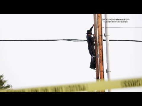 Hemet: Police Standoff with Suicidal Man