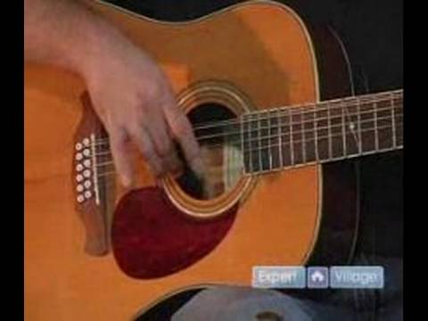 How to Play a Twelve String Guitar : Finger Picking Arpeggios on a Twelve String Guitar