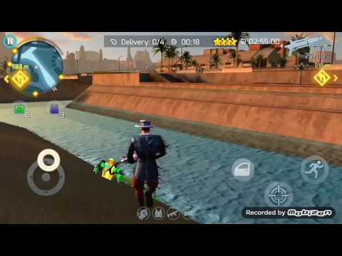 Gangstar Vegas Aqua Jetpack Gameplay