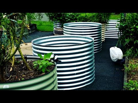 Where to Get Round Raised Garden Steel Galvanised Beds