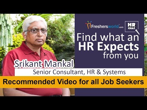 Find what an HR expects from you! - HR Chat, Recommended video for all Job Seekers