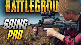 Battlegrounds: PROFESSIONAL BATTLEGROUNDS PLAYER? (Playerunknown