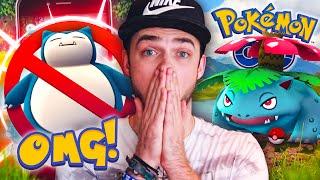 Pokemon GO - EVOLVING VENUSAUR + WILD *RARE* SNORLAX!