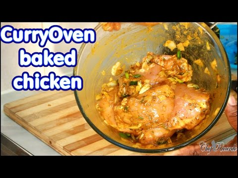 Christmas Curry Oven Baked Chicken Simple & Amazing | Recipes By Chef Ricardo