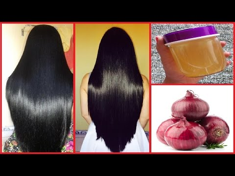 Onion Oil: How to Grow Long Thicken Hair with Onion   Get Long, Thick, Shiny, Smooth Hair