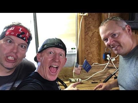 Installing Ape Hanger Handlebars on Harley Davidson-Sweet!!