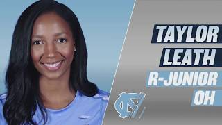UNC Volleyball: 2017 Season Preview - Taylor Leath