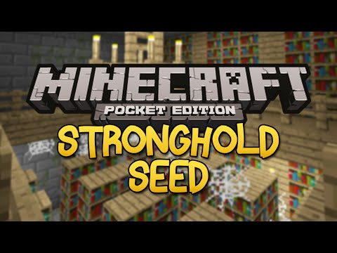 STRONGHOLD SEED! - Minecraft Pocket Edition (End Portal Seed)