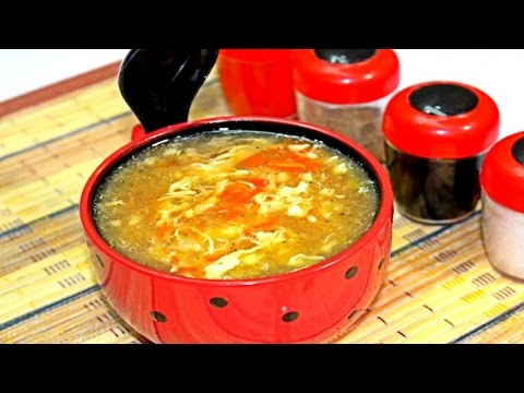 Hot and Sour Soup By Food In 5 Minutes