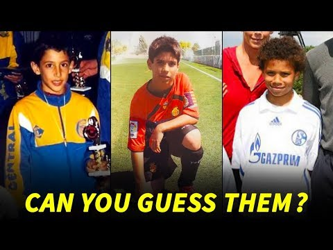 Top 20 Midfielders When They Were Kids  ● How Many Can You Guess? II Part 2 II