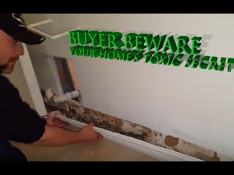 When Buying a New House Buyer Beware (Hidden Mold)