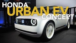 Honda Urban EV Concept First Look: 2017 Frankfurt Motor Show