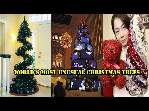 World's Most Unusual Christmas Trees! 100 COOL IDEA IMAGES!