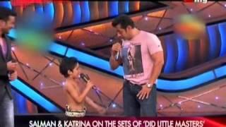 Salman & Katrina on the Sets of DID Little Master