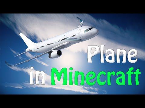 ✔ Minecraft: Create a Plane that Flies! (No Mods)